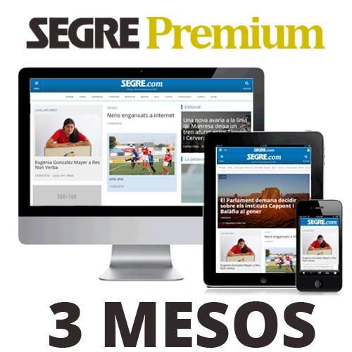 SEGRE Premium 3 mesos