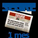 SEGRE català 1 mes