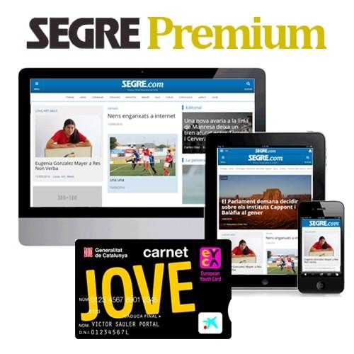 SEGRE Premium (digital) 1 año - Carnet Jove